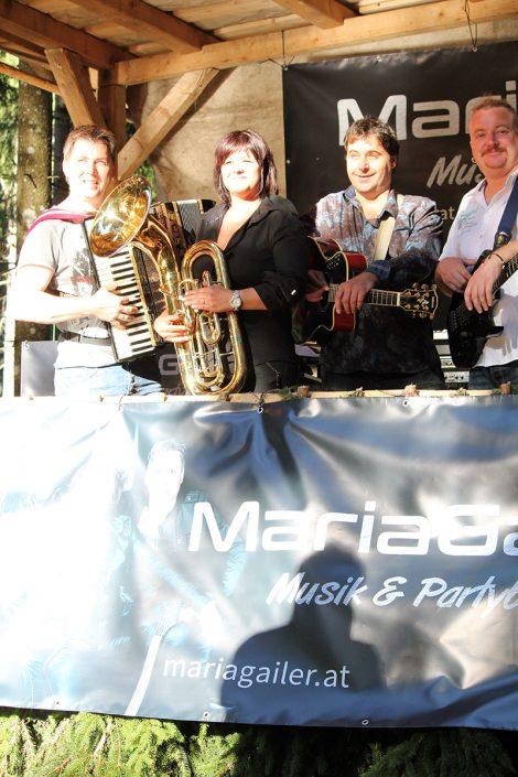 Maria Gailer | Live - Musik & Partyband, Hochzeitsband, Rock & Pop